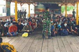 Lanal Tanjung Balai Asahan kembali amankan 124 TKI ilegal