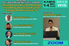 DPP GEMA MA Selenggarakan Seminar Webinar UMKM