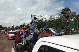 Jalur masuk keluar Banjarbaru - Banjar dijaga 24 jam selama PSBB
