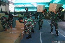 Korem 041 Gamas Bengkulu terima bantuan ribuan APD