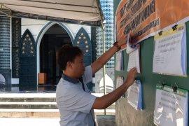 Pemkab Banyuwangi tempel laporan data penerima bansos di tempat ibadah