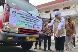 PSBB diterapkan, Pemprov Jatim kirimkan bahan pangan untuk dapur umum di Malang Raya