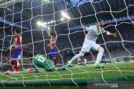 Wasit final Champions 2015/16 akui gol Sergio Ramos seharusnya  offside