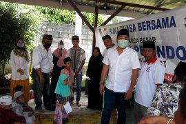 Partai Perindo Langkat berbagi kasih sayang dengan 200 anak yatim