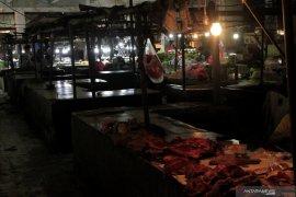 """Tujuh pedagang daging sapi ditolak RS jalani """"rapit test"""""""