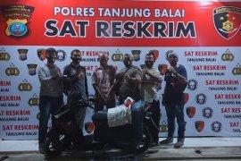 Polres Tanjung Balai ringkus nelayan pelaku pencurian