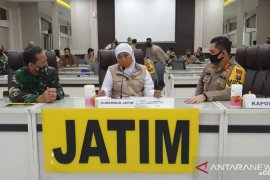 Pemprov Jatim gandeng TNI-Polri terapkan kampung tangguh demi cegah COVID-19