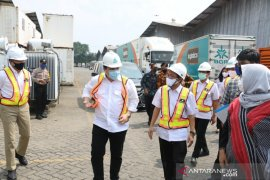 Menteri BUMN lepas penyaluran bantuan sembako untuk 1.000 panti asuhan
