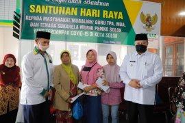 Baznas Kota Solok salurkan 1.423 santunan Lebaran untuk warga kurang mampu