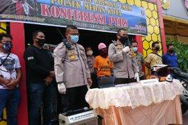 Polisi tembak mati tersangka pelaku pencurian kendaraan bermotor di Medan