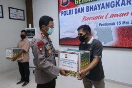 Polda Kalbar kembali salurkan sebanyak 12.113 paket sembako