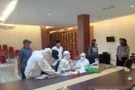 Hasil rapid test dua staf DPRD Provinsi Bengkulu reaktif