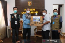 Wawali terima donasi 1.000 masker