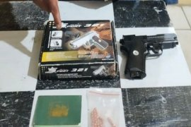 Pemilik senjata api ilegal di Simalungun ditangkap polisi