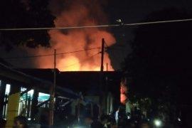 Gas elpiji bocor hanguskan sejumalh rumah di Jakarta