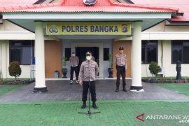 Kapolres Bangka minta seluruh personel polisi untuk saling mengingatkan