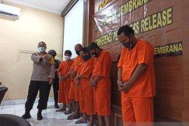 Polres Jembrana tangkap tujuh pemalsu surat kesehatan COVID-19