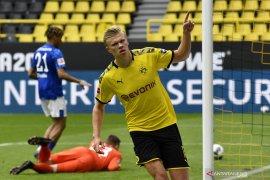 Liga Jerman: Haaland pencetak gol pertama papan atas di era pandemi