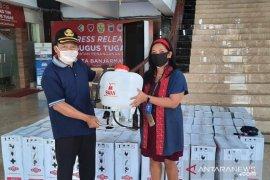 Duta Mall bantu manual spray untuk kelurahan