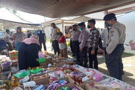 Pemkab Balangan bersama Kepolisian pantau bahan kebutuhan pokok penting