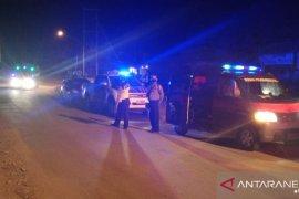 Polres Bengkayang rutin melakukan patroli malam cegah kerumunan warga