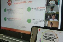 Telkomsel berikan bantuan sosial bagi masjid dan yayasan di Sumatera