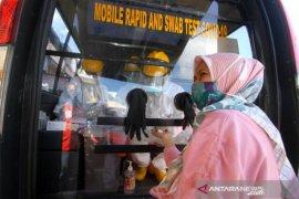 Rapid test di enam pasar Banjarmasin nyatakan 129 orang reaktif