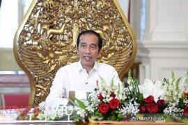 Presiden Jokowi siapkan 4 insentif bagi petani nelayan jaga pasokan pangan