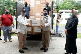Pemprov Sumut salurkan sembako untuk 123.021 warga Deliserdang