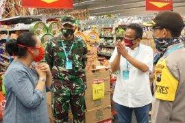 Gugus Tugas Malang cek penerapan protokol kesehatan di pasar-toko modern