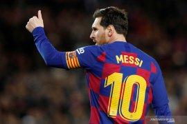 Kapten Barcelona  Lionel Messi merasa pandemi virus corona menguntungkan Barca