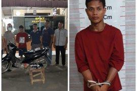 Pencuri 58 tablet milik SMPN 2 Bahorok Langkat diringkus Polisi