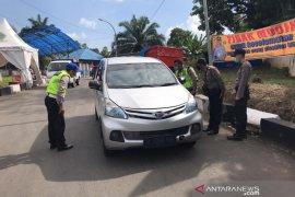 306 kendaraan pemudik masuk Bengkulu dipaksa putar balik