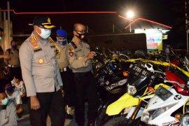 Polisi jaring 500 pebalap liar saat PSBB