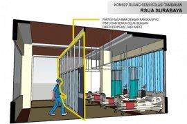 ITS-Unair rancang konversi ruang selasar RSUA jadi ruang isolasi pasien COVID-19