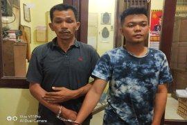 Polisi Binjai Barat tangkap dua tersangka warga Aceh Timur komplotan pencuri sarang burung walet