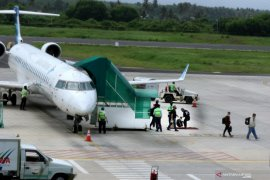 Penerbangan bandara Banyuwangi kembali dibuka