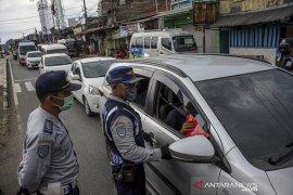 Penyekatan pemudik di Kabupaten Bandung