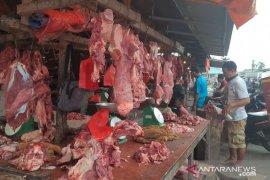 Harga daging sapi di Tanjung Pandan Belitung merangkak naik