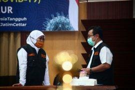 Puluhan pasien COVID-19 berdatangan di RSUD Dr Soetomo Surabaya