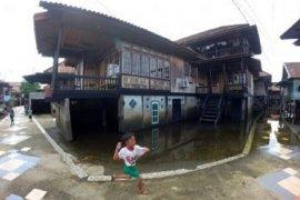 Banjir mulai surut di Kota Jambi