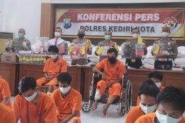 Polisi Kediri tangkap 31 pelaku tindak pidana selama April-Mei 2020