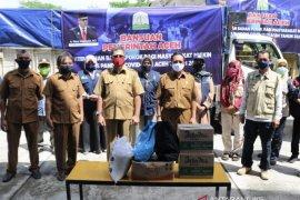 Aceh salurkan 3.229 paket sembako bagi warga terdampak COVID-19