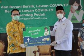 Kemendag berikan bantuan alkes ke Pemprov Banten dan pasar tradisional