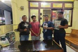 Pelaku pencurian 300 selop rokok diringkus Polisi Binjai Barat