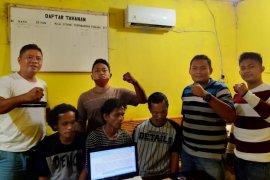 Polres Tanjung Balai ringkus tiga pelaku pencurian sarang walet