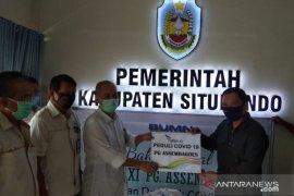 PTPN XI  salurkan bantuan sembako dan ribuan masker di Situbondo