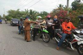 Kapolres Langkat uji petik data penerima bansos Provinsi Sumatera Utara