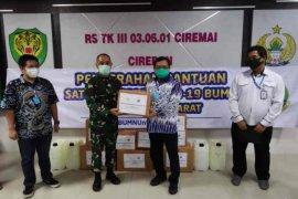 Anggota DPR RI salurkan alat kesehatan dan sembako di Cirebon
