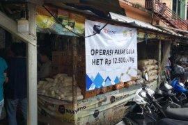 Satgas Pangan Polda Banten pantau OP gula di Pasar Rau
